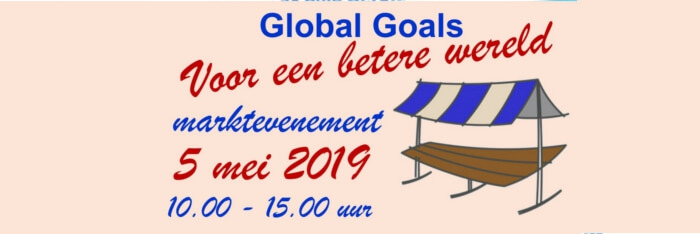 Global Goals evenement 5 mei