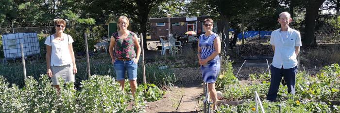 Bezoek van Fairtrade Gemeente team Krefeld