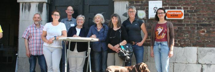 Fietstocht Fairtrade Gemeente Krefeld bij keizerlijk weer!